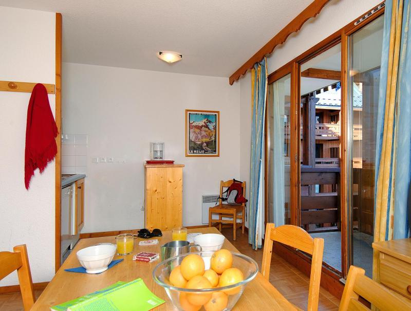 Location au ski Résidences Goelia les Balcons du Soleil - Les 2 Alpes - Salle à manger
