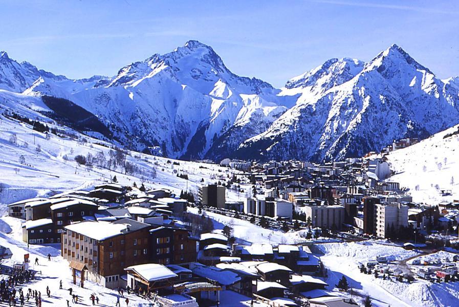 Vacances en montagne Résidences les Deux Alpes 1800 - Les 2 Alpes - Extérieur hiver