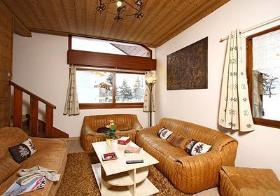 Location au ski Chalet 8 pièces 16 personnes - Chalet Alpina - Les 2 Alpes - Canapé