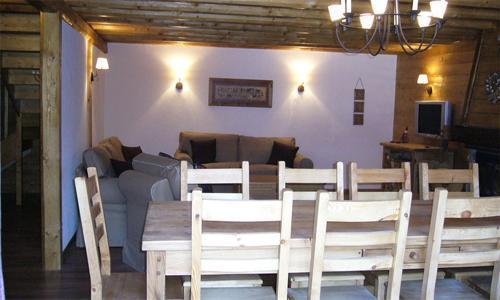 Location au ski Chalet mitoyen 6 pièces 12 personnes - Chalet De Marie - Les 2 Alpes - Salle à manger
