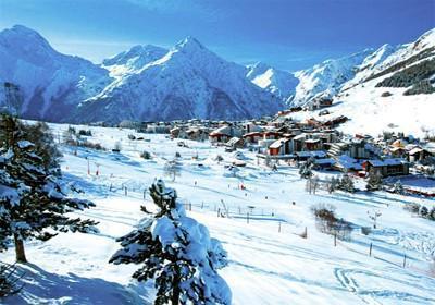 Location au ski Chalet Erika - Les 2 Alpes - Intérieur