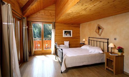 Location au ski Chalet mitoyen 5 pièces 12 personnes - Chalet Harmonie - Les 2 Alpes - Chambre
