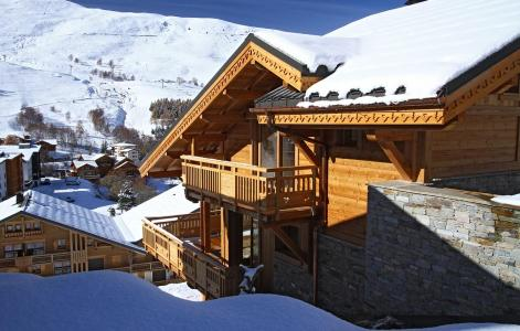 Rental Les 2 Alpes : Chalet Husky summer