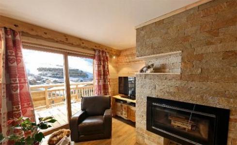 Location au ski Chalet 6 pièces 12 personnes - Chalet Husky - Les 2 Alpes - Cheminée