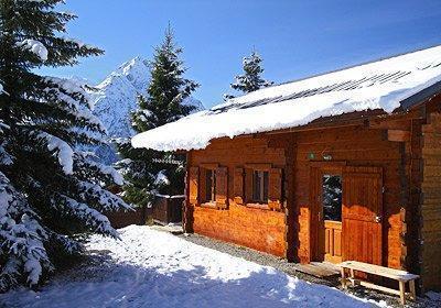 Location au ski Chalet L'ancien - Les 2 Alpes - Extérieur hiver