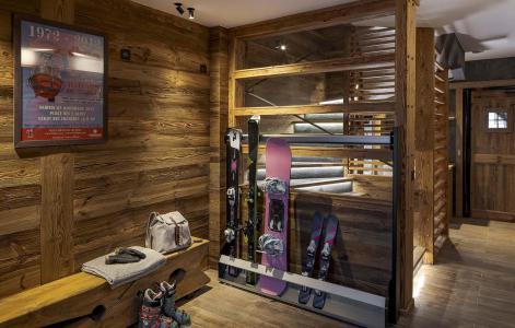 Аренда на лыжном курорте Chalet L'Atelier - Les 2 Alpes - Помещение для хранения лыжного оборудова