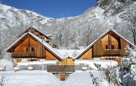 Location au ski Chalet la Lauze - Les 2 Alpes - Extérieur hiver