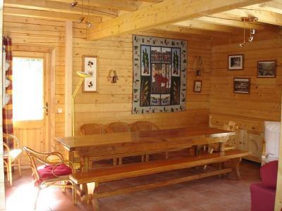 Location au ski Chalet la Lauze - Les 2 Alpes - Coin repas