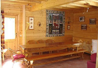Location au ski Chalet La Lauze - Les 2 Alpes - Table