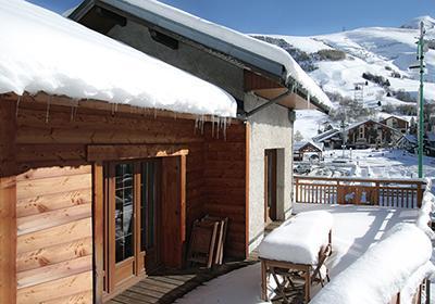 Location Chalet Le Marmotton