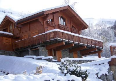 Huur Les 2 Alpes : CHALET LE PANORAMA winter