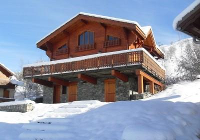Location au ski Chalet Le Panorama - Les 2 Alpes - Extérieur hiver