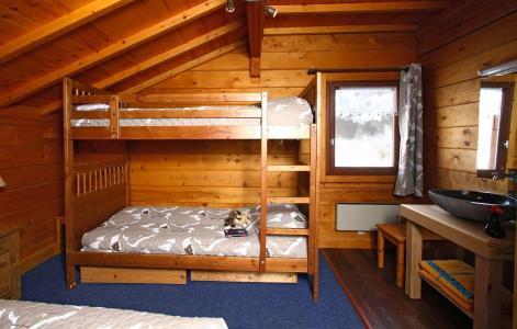 Аренда на лыжном курорте Chalet le Ponton - Les 2 Alpes - Двухъярусные кровати