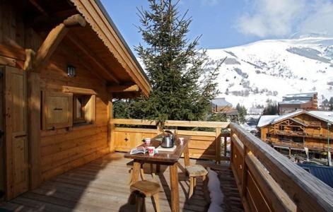 Ski en mars Chalet Les Alpages