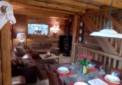 Location au ski Chalet 4 pièces 8 personnes - Chalet Les Alpages - Les 2 Alpes - Salle à manger