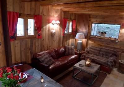 Location au ski Chalet 4 pièces 8 personnes - Chalet Les Alpages - Les 2 Alpes - Séjour