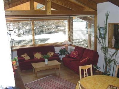 Location au ski Chalet 5 pièces 8-9 personnes - Chalet Les Jonquilles - Les 2 Alpes - Séjour