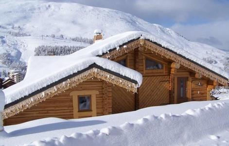 Vacances en montagne Chalet Leslie Alpen - Les 2 Alpes - Extérieur hiver