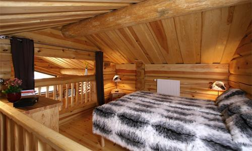 Location au ski Chalet 6 pièces 12 personnes - Chalet Leslie Alpen - Les 2 Alpes - Chambre mansardée