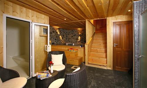 Location au ski Chalet 6 pièces 12 personnes - Chalet Leslie Alpen - Les 2 Alpes - Hammam