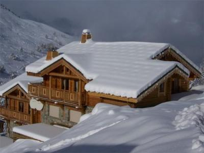 Location au ski Chalet 6 pièces 12 personnes - Chalet Leslie Alpen - Les 2 Alpes - Extérieur hiver