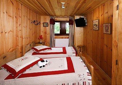 Location au ski Chalet Leslie Alpen - Les 2 Alpes - Chambre