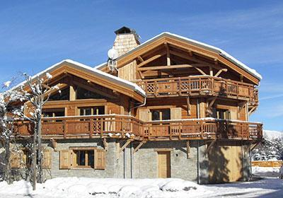 Location Les 2 Alpes : Chalet Levanna Occidentale hiver