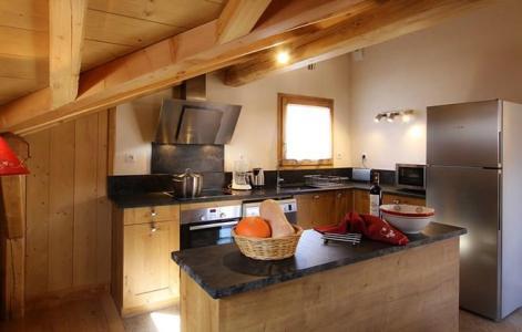 Soggiorno sugli sci Chalet Levanna Occidentale - Les 2 Alpes - Cucina aperta