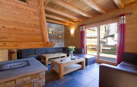 Location au ski Chalet Prestige Lodge - Les 2 Alpes - Coin séjour