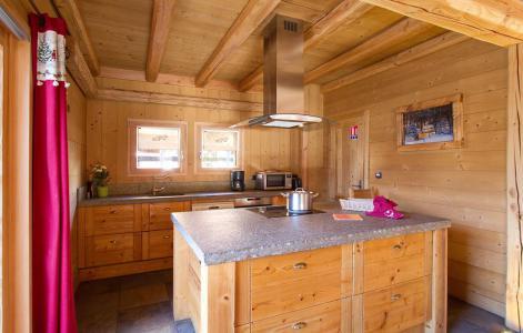 Location au ski Chalet Prestige Lodge - Les 2 Alpes - Kitchenette