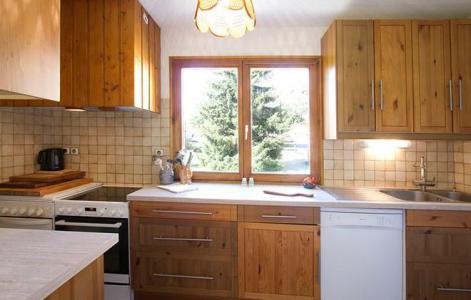 Rent in ski resort Chalet Sabot de Vénus - Les 2 Alpes - Kitchen