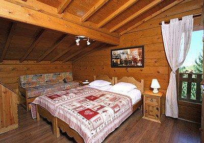 Location au ski Chalet Soleil D'hiver - Les 2 Alpes - Chambre mansardée