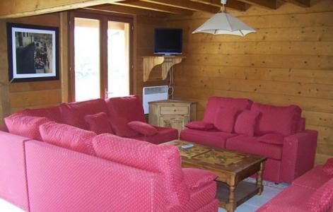 Location au ski Chalet Soleil d'Hiver - Les 2 Alpes - Séjour