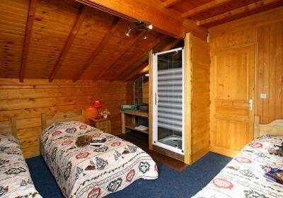 Location au ski Chalet 7 pièces 12 personnes - Chalet Soleil Levant - Les 2 Alpes - Chambre mansardée