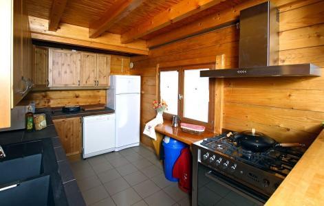 Location au ski Chalet Soleil Levant - Les 2 Alpes - Cuisine ouverte