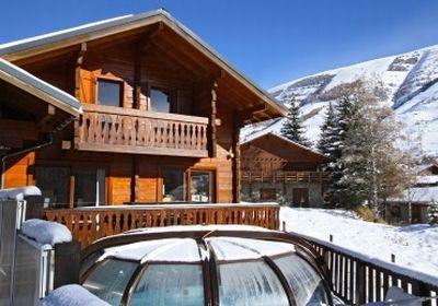 Location au ski Chalet Soleil Levant - Les 2 Alpes - Extérieur hiver
