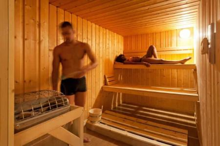 Location au ski Hotel Club Mmv Le Panorama - Les 2 Alpes - Sauna