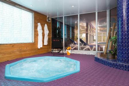 Location au ski Hôtel Ibiza - Les 2 Alpes - Jacuzzi