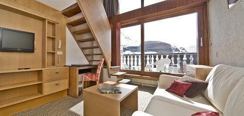 Location au ski Hotel Ibiza - Les 2 Alpes - Mezzanine