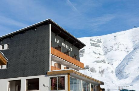 Location au ski Hotel Les Airelles - Les 2 Alpes - Extérieur hiver