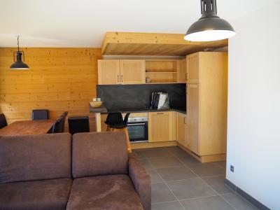 Rent in ski resort 3 room apartment cabin 6 people - La Résidence - Les 2 Alpes - Kitchenette