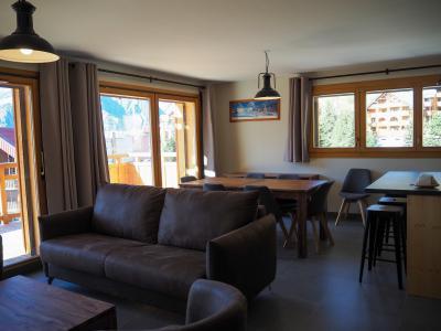 Rent in ski resort 3 room apartment cabin 6 people - La Résidence - Les 2 Alpes - Living room