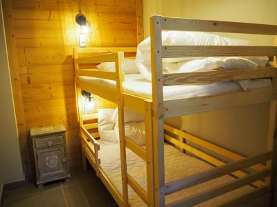 Rent in ski resort 3 room apartment cabin 8 people - La Résidence - Les 2 Alpes - Bunk beds