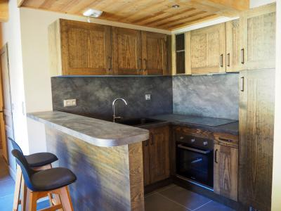 Rent in ski resort 4 room apartment 8 people - La Résidence - Les 2 Alpes - Kitchenette
