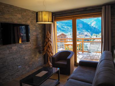 Rent in ski resort 4 room apartment 8 people - La Résidence - Les 2 Alpes - Living room