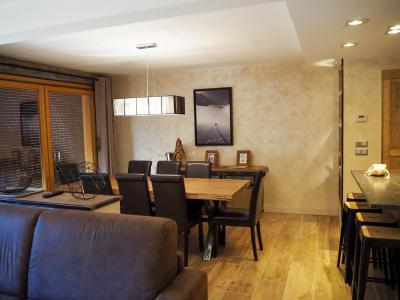 Rent in ski resort 4 room apartment 8 people - La Résidence - Les 2 Alpes - Table