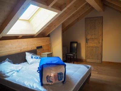 Rent in ski resort 5 room duplex apartment cabin 10 people - La Résidence - Les 2 Alpes - Double bed