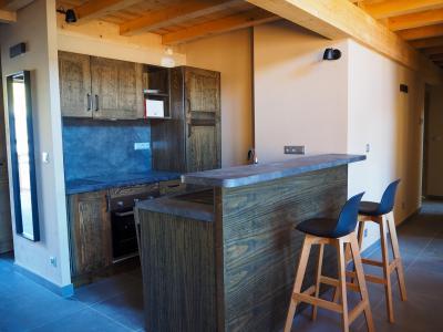 Rent in ski resort 5 room duplex apartment cabin 10 people - La Résidence - Les 2 Alpes - Kitchenette
