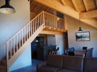 Rent in ski resort 5 room duplex apartment cabin 10 people - La Résidence - Les 2 Alpes - Living room