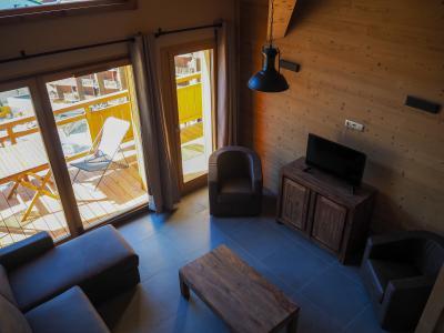 Rent in ski resort 5 room duplex apartment cabin 10 people - La Résidence - Les 2 Alpes - Mezzanine